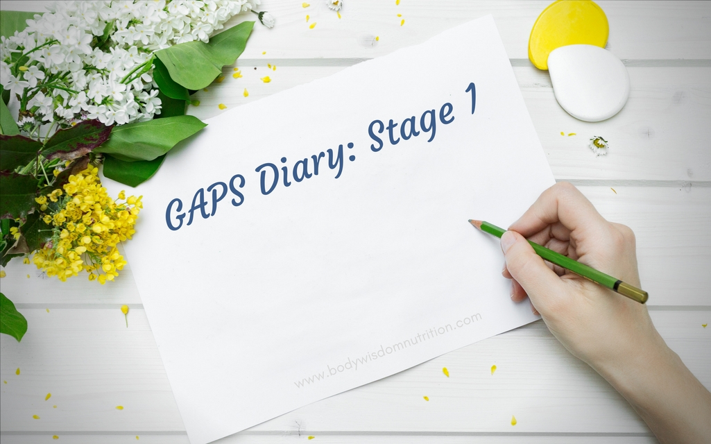 GAPS Diary: The Intro