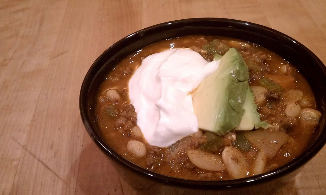 GAPS Recipe: Chili with Navy Beans & Beef Heart