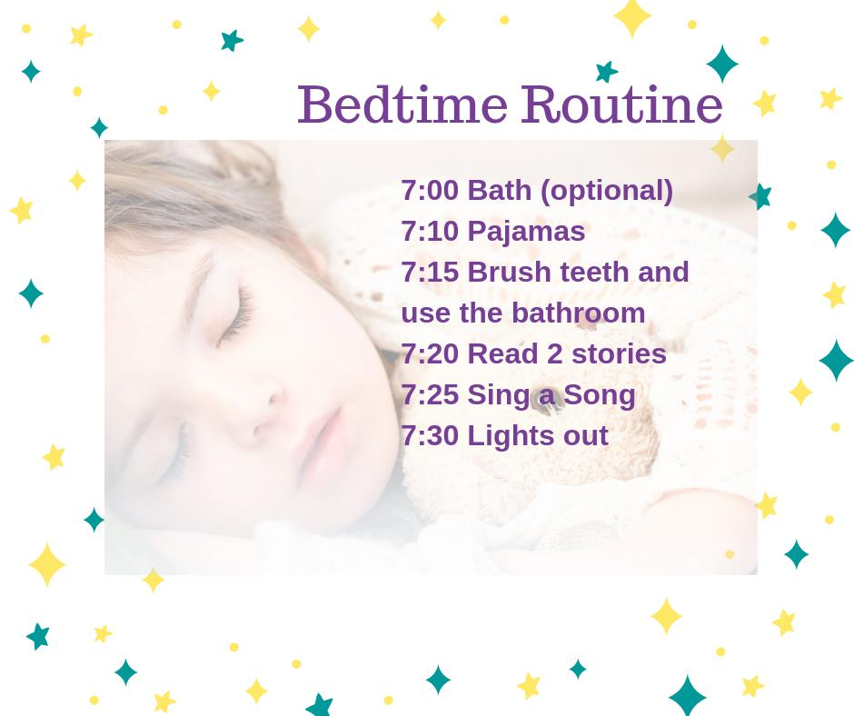 A sleep expert's bed time routine for your child