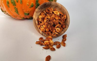 Best Roasted Chili Lime Pumpkin Seeds Recipe